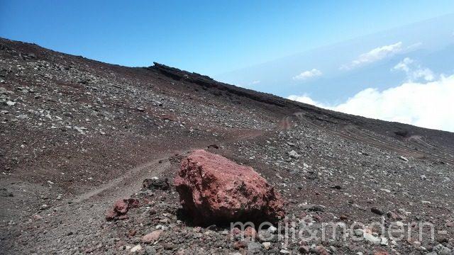 富士山 九合目