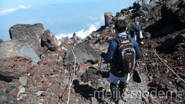 富士山 山頂