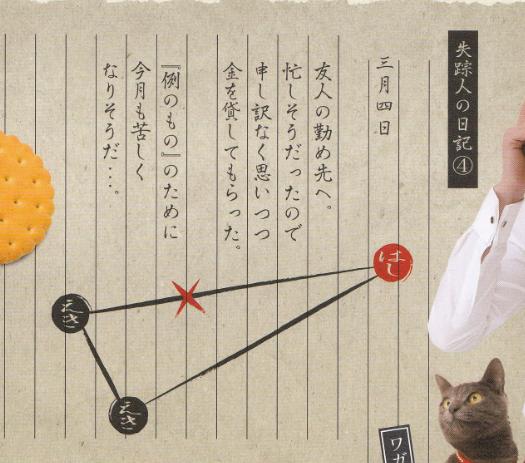 明治探偵GAME 依頼書1